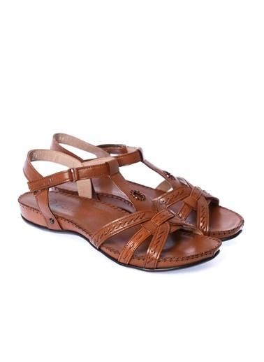 Forelli %100 Deri Sandalet Taba
